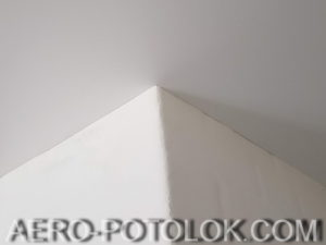 бесщелевой потолок фото работ 2