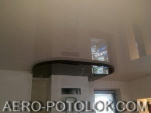 двухуровневый потолок фото работ 3