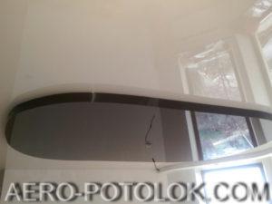 двухуровневый потолок фото работ 6