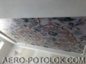 натяжной потолок с фотопечатью фото 3
