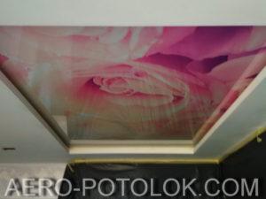 натяжной потолок с фотопечатью фото 2