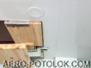 глянцевый потолок фото работ 5