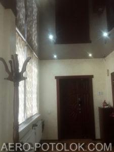 глянцевый потолок фото работ 7