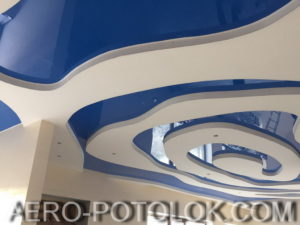 глянцевые потолки фото 8