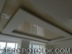 глянцевый натяжной потолок фото 6