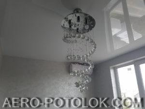 глянцевый натяжной потолок фото 9