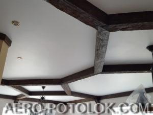 матовый потолок фото работ 6