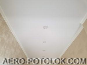 матовый потолок фото работ 4