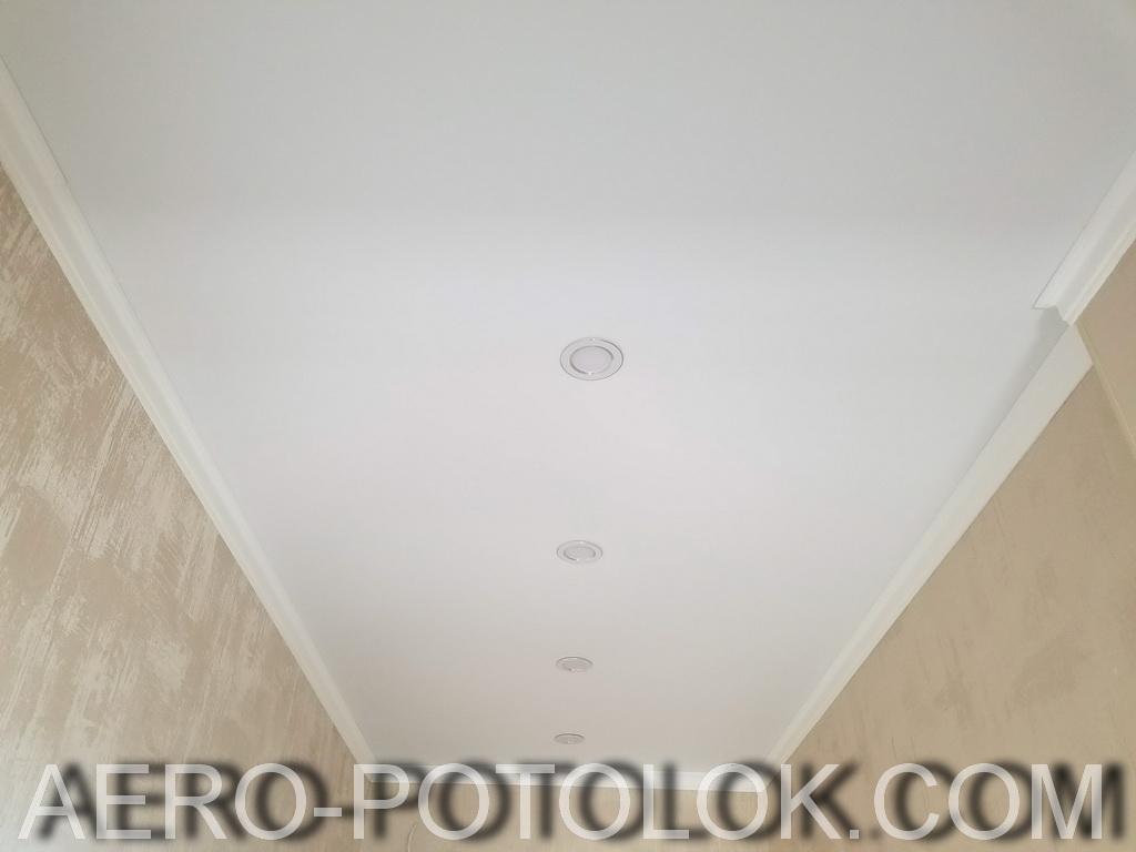 матовые натяжные потолки фото 4