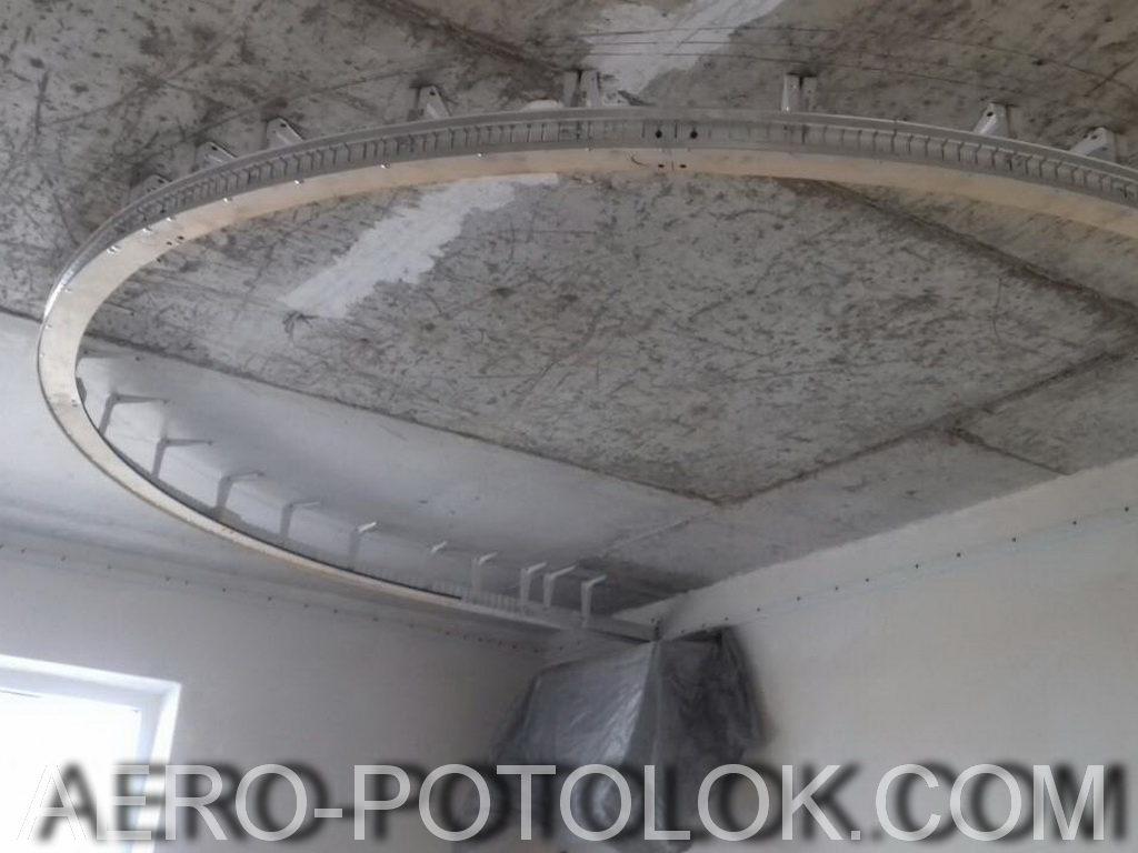 фактурные натяжные потолки фото
