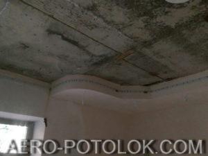 монтаж натяжного потолка фото 3