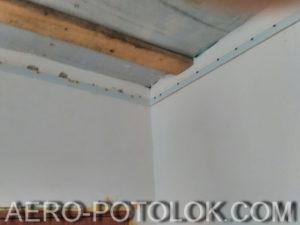 монтаж натяжного потолка фото 9