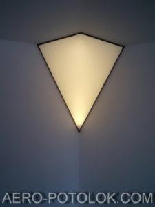 полупрозрачный потолок фото