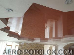 потолок в зал фото