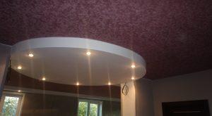 замшевые потолки фото